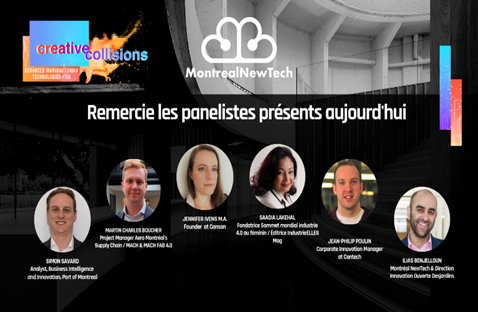Montreal: Sâadia Lakehal paneliste | Creative Collision-New Tech