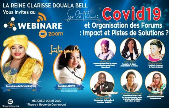 Cameroun : Sâadia Lakehal invitée spéciale de son Altesse, la Reine Clarisse Douala Bell des Douala